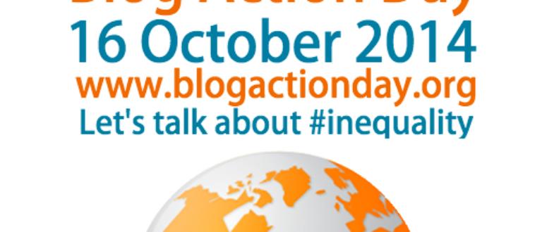 Article : L'inégalité au centre du Blog Action Day 2014