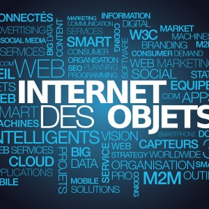 Internet des Objets intelligents connecté 3.0 IdO nuage de mots