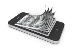 http://www.dreamstime.com/royalty-free-stock-photography-money-mobile-phone-image28117357