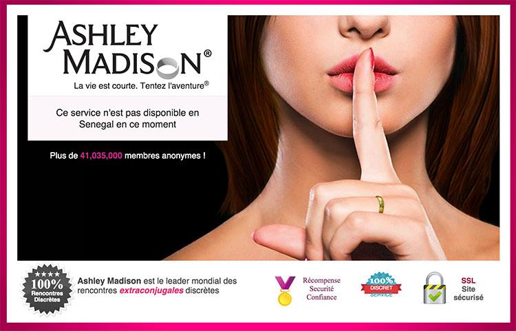Ashley Madison premier site internet spécialisé dans les rencontres extra conjugales