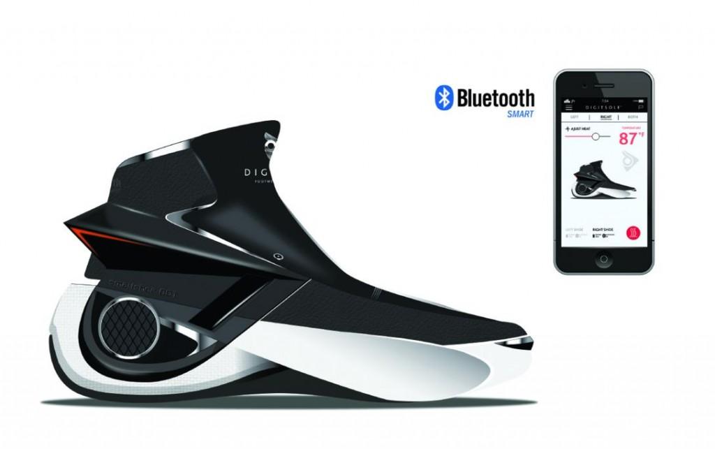 La chaussure intelligente smartshoe 01