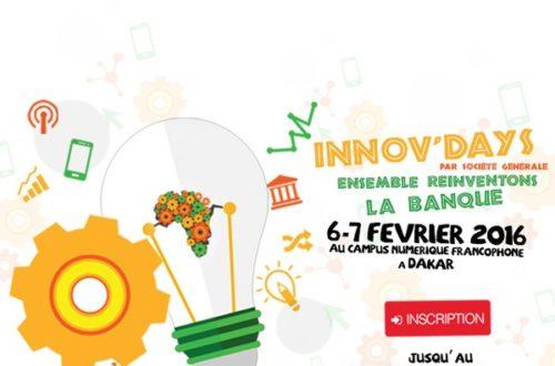 Article : J'ai participé à #InnovDaysAfrique par Société Générale