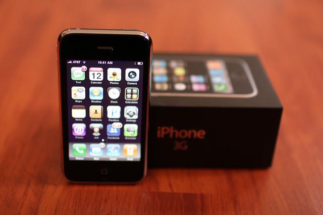 Un téléphone 3G